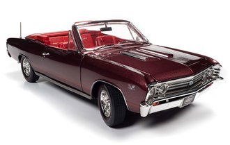 "1967 Chevrolet Chevelle SS 396 Convertible ""MCACN"" (Madiera Maroon)"