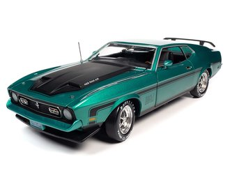 "1971 Ford Mustang Mach 1 ""Class of 1971"" (Grabber Green Metallic)"