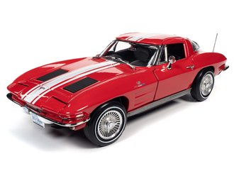 1963 Chevy Corvette Stingray Z06 Coupe (Riverside Red)
