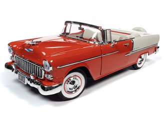 1955 Chevy Bel Air Convertible (Red & White)
