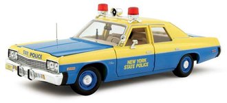 1:18 Authentics 1974 Dodge Monaco New York State Police Car