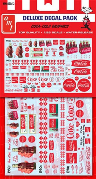 1:25 Decal Pack - Coca-Cola