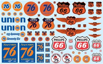1:25 Decal Pack - Phillips 66 & Union 76 Trucking