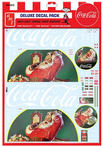 1:25 Vintage Coca-Cola Santa Clause Big Rig Graphics
