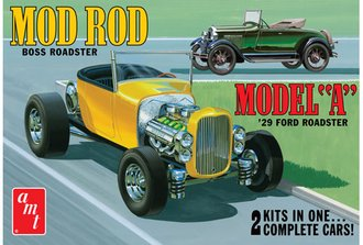 1:25 1929 Ford Model A Roadster (Model Kit)