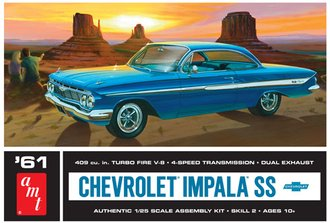 1:25 1961 Chevy Impala SS (Model Kit)
