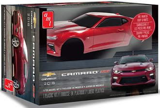 1:25 2016 Chevy Camaro SS (Pre-painted) (Model Kit)
