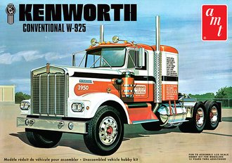 1:25 Kenworth W925 Conventional Tractor (Model Kit)