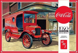 1:25 Coca-Cola 1923 Ford Model T Delivery (Model Kit)