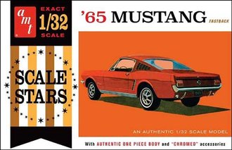 1:32 1965 Ford Mustang Fastback (Model Kit)