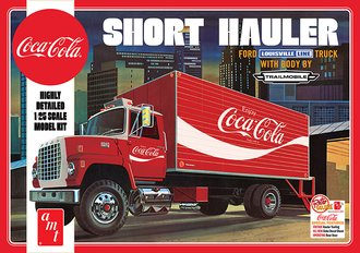1:25 Coca-Cola 1970 Ford Louisville Short Hauler (Model Kit)
