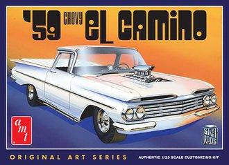 1:25 1959 Chevy El Camino (Original Art Series) (Model Kit)