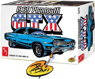 1:25 Dirty Donny 1969 Plymouth GTX (Model Kit)