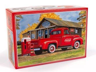 "1:25 1955 Chevy Cameo Pickup ""Coca-Cola"" (Model Kit)"