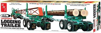 1:25 Peerless 'Roadrunner' Logging Trailer w/Beam Load Option (Model Kit)