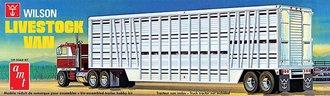 1:25 Wilson Livestock Van Trailer (Model Kit)