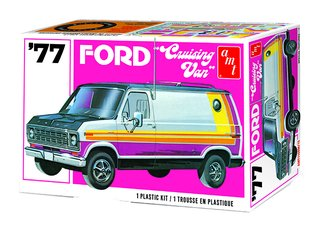 "1:25 1977 Ford ""Cruising Van"" 2T (Model Kit)"