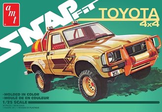 1:25 1980 Toyota Hilix SR5 Pickup 2T (Snap Model Kit)