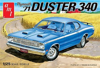 1:25 1971 Plymouth Duster 340 (Model Kit)