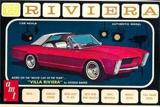 "1:25 1965 Buick Riviera ""George Barris"" (Model Kit)"