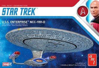 Star Trek U.S.S. Enterprise-D (Snap 2T Model Kit)