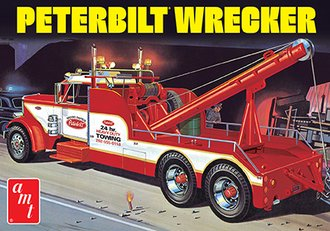 1:25 Peterbilt 359 Wrecker (Model Kit)