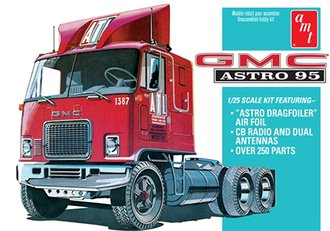 1:25 GMC Astro 95 Semi Tractor (Model Kit)