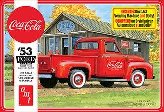 """1:25 1953 Ford Pickup """"Coca-Cola"""" (Model Kit)"""