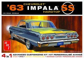 1963 Chevy Impala SS 2T (Model Kit)