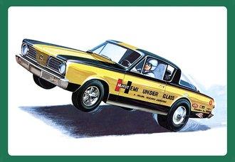 "1:25 1966 Plymouth Barracuda ""Hemi Under Glass"" (Model Kit)"