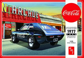 "1:25 Popper 1977 Ford Pinto w/Coke Machine ""Coca-Cola"" 2T (Model Kit)"