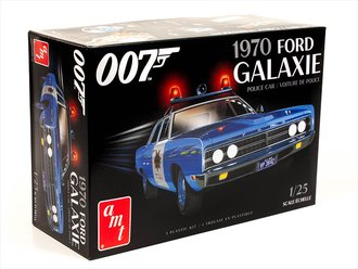"1970 Ford Galaxie Police Car ""James Bond - Diamonds are Forever"" (Model Kit)"