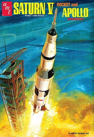 1:200 Saturn V Rocket NASA (Model Kit)