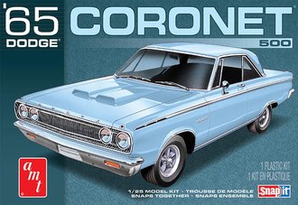 1965 Dodge Coronet (Snap) 2T (Model Kit)