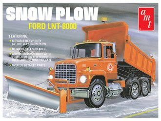 Ford LNT-8000 Dump Truck w/Snow Plow Blade (Model Kit)