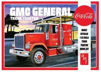 "1976 GMC General Semi Tractor ""Coca-Cola"" (Model Kit)"