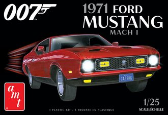 James Bond 1971 Ford Mustang Mach I (2T - Model Kit)
