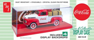 "1:25 Cars & Collectibles Display Case ""Coca-Cola"""