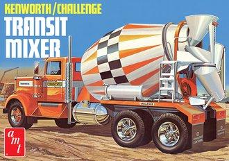 Kenworth Challenge Transit Cement Mixer (Model Kit)