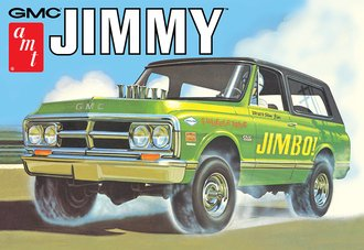 1972 GMC Jimmy (Model Kit)