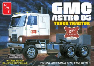 "GMC Astro 95 Semi Tractor ""Miller Beer"" (Model Kit)"