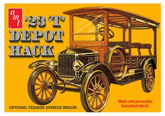 1923 Ford T Depot Hack (Model Kit)