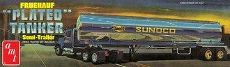"Fruehauf Plated Tanker Trailer ""Sunoco"" (Model Kit)"