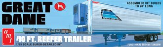 "Great Dane 40' Reefer Trailer ""Coors"" (Model Kit)"