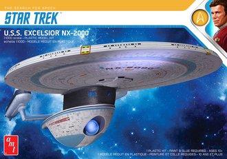 Star Trek U.S.S. Excelsior (Model Kit)