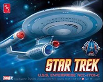 1:2500 Star Trek™ Enterprise1701C (Model Kit)