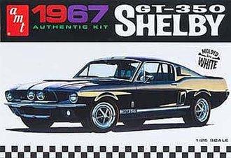 1:25 1967 Shelby GT350 (White) (Model Kit)