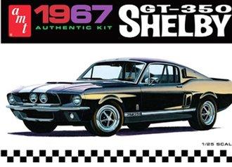 1:25 1967 Shelby GT350 (Black) (Model Kit)