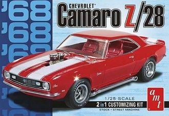 1:25 1968 Camaro Z/28 (Model Kit)