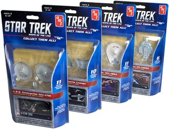 Case of 12 - 1:2500 Star Trek - Ships of the Line Assortment (Snap Model Kits)